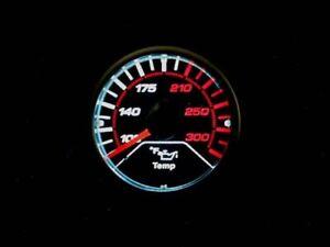 Megan Racing LED LIGHT Oil temperature Meter Tinted Gauge 52mm MG-OT