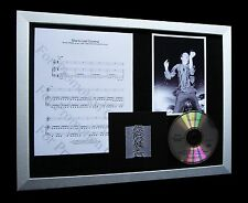 JOY DIVISION She's Lost Control LIMITED Numbered CD QUALITY MUSIC FRAMED DISPLAY