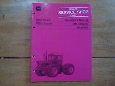John Deere 7020 Tractor Operator's Manual