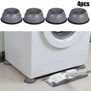 4x Anti Vibration Feet Pads Washing Machine Fridge Shake Non-Slip Mat 9x3.5cm