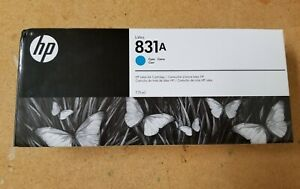 HP Latex 831a cyan Ink Cartridge Authentic HP 775 ml