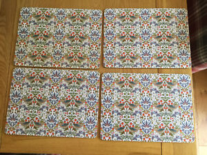 Strawberry Thief Table Mats