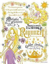 Jigsaw Puzzle Colorful Gold Rapunzel 300 Piece [Bubble Wrap] (16.5 x 21.5cm)