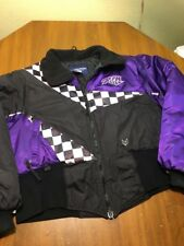 Fox Point Womens Large Snowmobile Skiing Jacket Coat Short Black Purple White