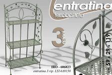 ENTRATINA H119*59*29 SCAFFALE ENTRATA INGRESSO METALLO CUCINA BAGNO IRO 606823