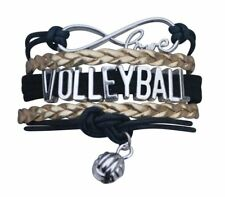 Volleyball Bracelet (5 Colors) - Girls Volleyball Jewelry - Volleyball Gifts