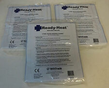 Lots Of 3 Ready-Heat 6 Panel Heated Disposable Blanket New in Packaging