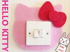 Hello Kitty Light Switch Wall Sticker Cover Baby Kids Children Girls Room decor