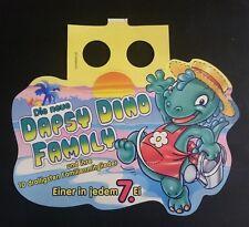 "Original Palettenanhänger ""Dapsy Dino Family"" Deutschland 1997 Serien"