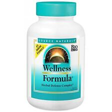 Source Naturals Wellness Formula - 240 Capsules - Herbal Defence Complex