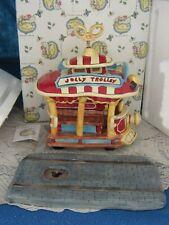 Blue Sky Clayworks Heather Goldminc Disney Toontown Jolly Trolley New In Box