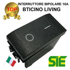 Bticino LIVING LIGHT INTERNTIONAL interruttore bipolare 0/1 16A
