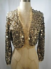 BETSEY JOHNSON Sequin Shrug Size Small
