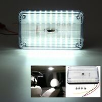 DC 12V Bright White Car Van 36 LED Roof Ceiling Dome Interior Light Cabin