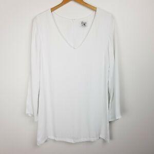 Sir The Label Silk Dress Size 1 (AU 8) White