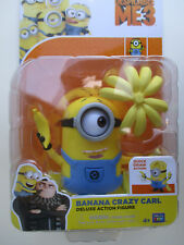 DESPICABLE ME 3 POSEABLE DELUXE *BANANA CRAZY CARL* WITH ACCESORIES 4+