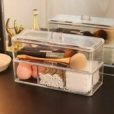 Makeup Organizer Cosmetic Storage Box Makeup Brush Storage Rack Double Layer Kit