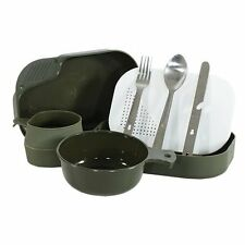 NEW US Style Campers Mess Kit Utensil Cup Plate Camping Survival Emergency Food