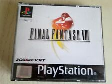 Final fantasy viii ps1, incompleto, black label in FRANCESE