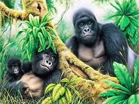 Full drill Diamond Painting Cartoon Gorilla Monkey Handicraft Embroidery 6947H