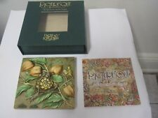 Harmony Kingdom Slow Downs Byron's Secret Garden Tiles Pxgd1 3 Dimensional