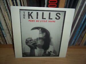 "THE KILLS Fried my little brains UK 2003 DOMINO original 7"" with INSERT"
