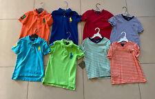 Polo Ralph Lauren Boys Sz 6 Lot of Eight Shirts & T Shirt and Polo Short Sleeve