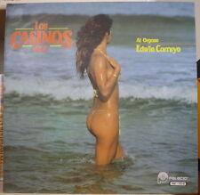 LOS CASINOS VOL.7 EDWIN CARRUYO SEXY COVER VENEZUELA PRESS LP PALACIO 1982