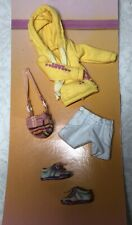"7.5"" Artisan Kish Riley Sized Doll Clothing Hoodie Shorts Sneakers Outfit #J26"