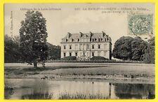 cpa Ecrite en 1906 LA HAIE FOUASSIERE (Loire Atlantique) CHÂTEAU du HALLAY Etang