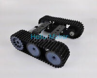 New DIY Robot ATV Track Tank Chassis Obstacle Crossing Crawler For Arduino