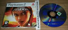 Lara croft tomb raider legend complet jeu promo Sony PlayStation 2 PS2 gratuit uk p&p