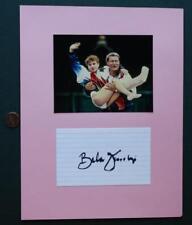 US-Romanian Gymnastics Coach Bela Karolyi signed autograph & photo set-VINTAGE!