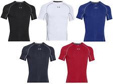 Under Armour HeatGear Compression Men's Short Sleeve Shirt-1257468-FREE SHIPPING