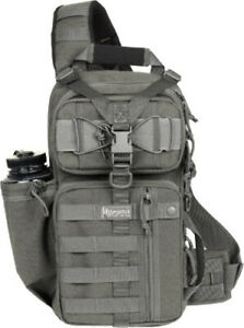Maxpedition Sitka Gearslinger 0431F Foliage Green. Main compartment measures 16