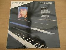 Elton John – Love Songs Vinyl LP Compilation UK1982 Pop Rock TV RECORDS - TVA 3