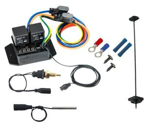 """Digital Thermatic® Fan Switch With 1/8"""" NPT Thermal Sensor Kit (PART #0448)"""