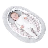 Lit bébé pliant en coton 90x60cm Lit bébé Nouveau-nés Nid de couchage pour