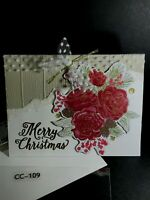 Handmade Christmas Greeting Cards - You Choose - USE Dropdown menu