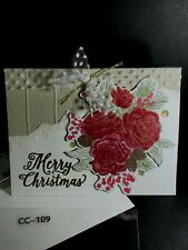 Handmade Christmas Greeting Cards - You Choose - 8 Ship FREE in US