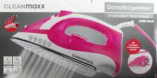 Cleanmaxx Dampfbügeleisen 2200 W in aktuellem Trend Design Neu