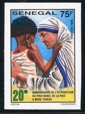 TIMBRE AFRIQUE SENEGAL / NEUF NON DENTELE N° 1508 ** MERE TERESA / PRIX NOBEL