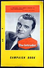 INTRUDER 1953 Jack Hawkins George Cole Dennis Price Michael Medwin CAMPAIGN BOOK