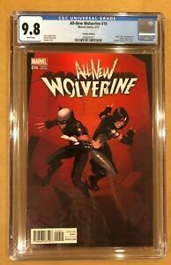 ALL-NEW WOLVERINE 16 CGC 9.8. BENGAL VARIANT. (3/17).