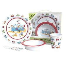 d5b99635232 Flamefield 5 piece Harry and Friends Child s Kids Camping Melamine Dinner  Set