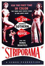 "Striporama Movie Poster Replica 13x19"" Photo Print"