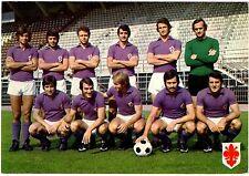 Cartolina Squadra AC Fiorentina Calcio 1972/73