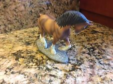 """Franklin Mint """"The Great Horses of the World""""   CLYDESDALE 1989"""
