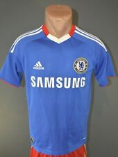 Chelsea Football Soccer Jersey Shirt Mens Home Adidas 2010/2011 Size S 5/5