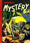 Mister Mystery 04 Comic Book Cover Art Giclee Reproduction on Canvas